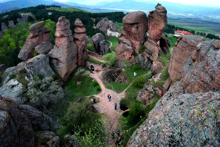 View from the top of the Belogradchik Fortress