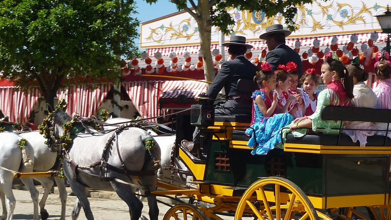 Refined celebrations at Seville´s April fair