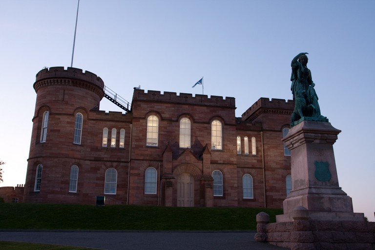 Inverness Castle and Flora MacDonald