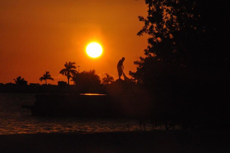 Sunset in Chetumal