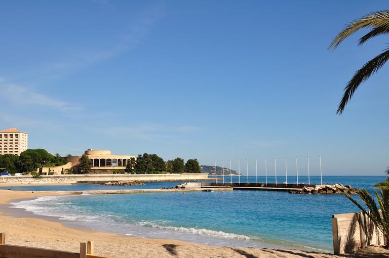Larvotto Beach