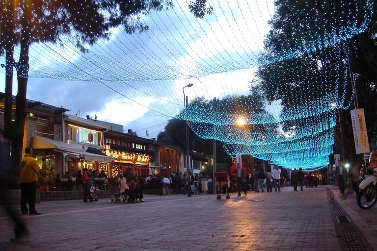 Bogota's Famous Zona T