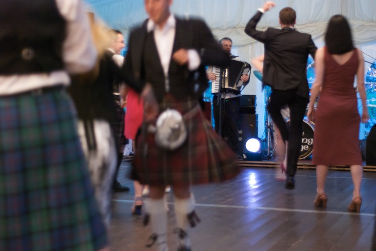 Dancing Scots