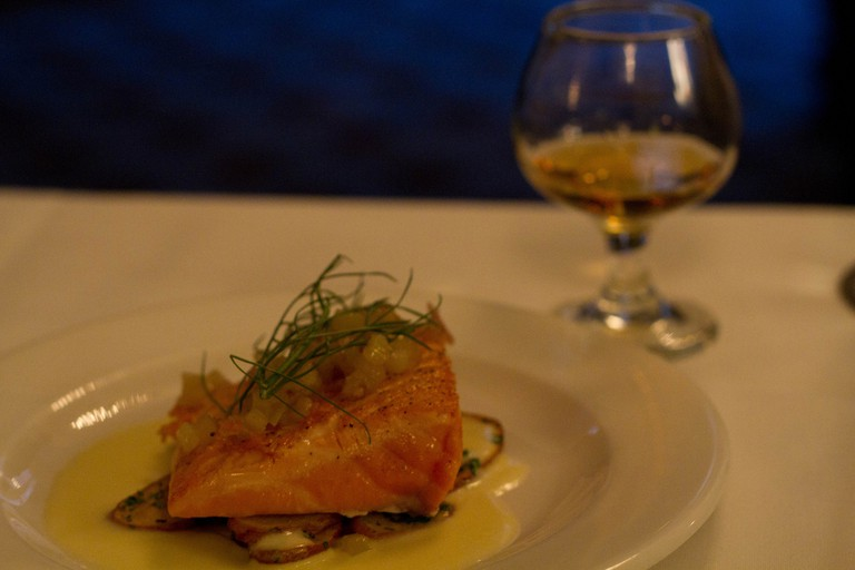 Salmon and Whisky