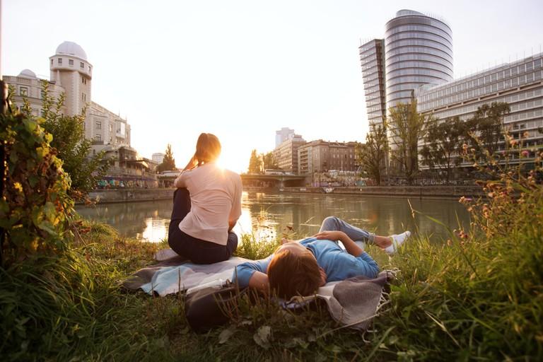 Strandbar Herrmann, Danube Canal© WienTourismus/Peter Rigaud