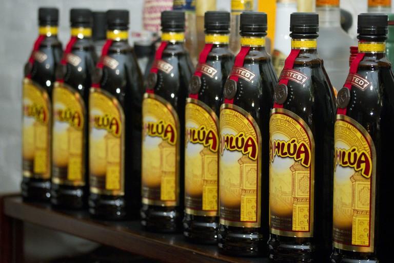 Kahlúa bottles