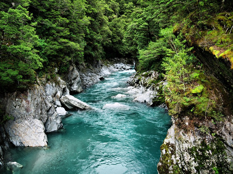 River on the Haast Pass