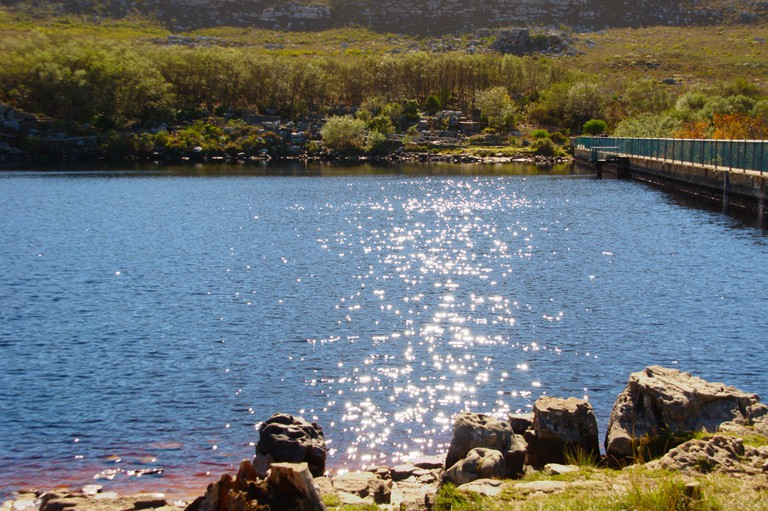 Natural reservoir at Silvermine Nature Reserve