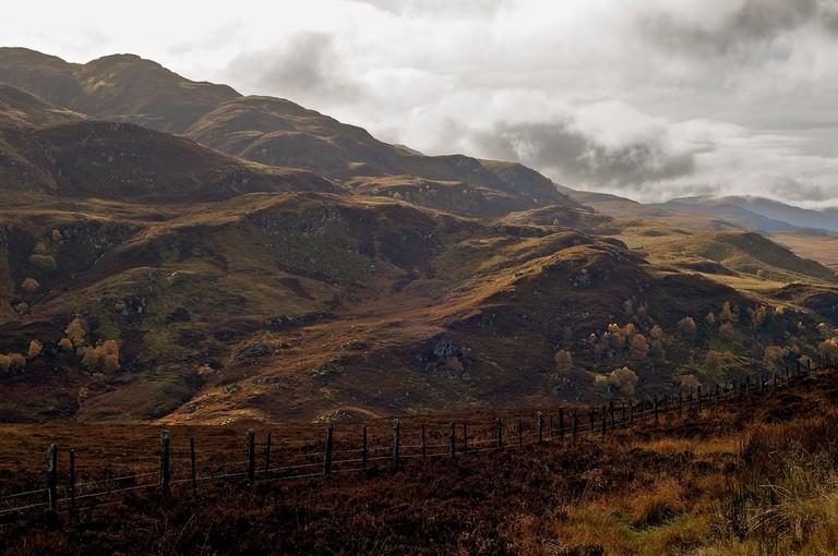 Above Loch Ness