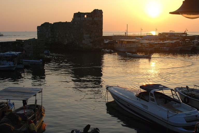Sunset, Byblos