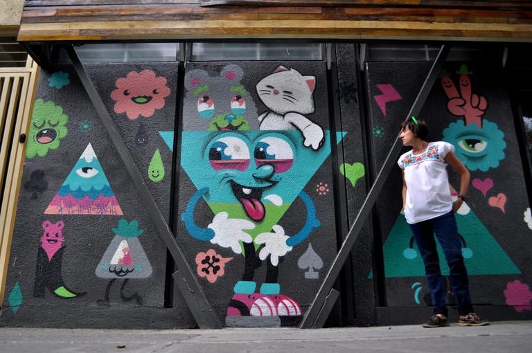 Street art in Roma
