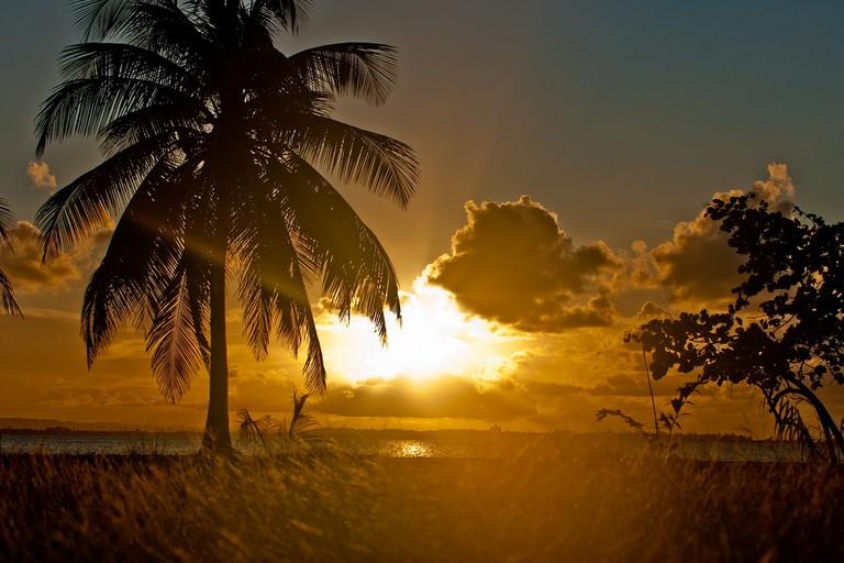 Sunset on Isla de Cabras