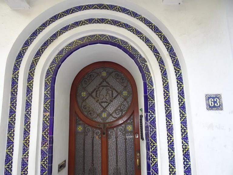 Art deco façade, Condesa