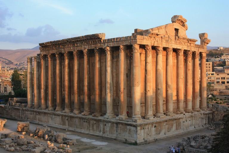 Temple of Bacchus, Baalbek | © Arian Zwegers/ Flickr