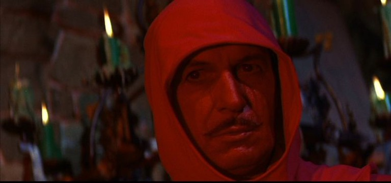 Vincent Price in 'The Masque of the Red Death'