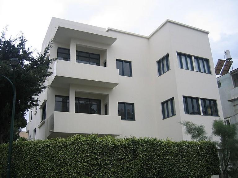 Bauhaus museum in Tel Aviv's Bialik Square