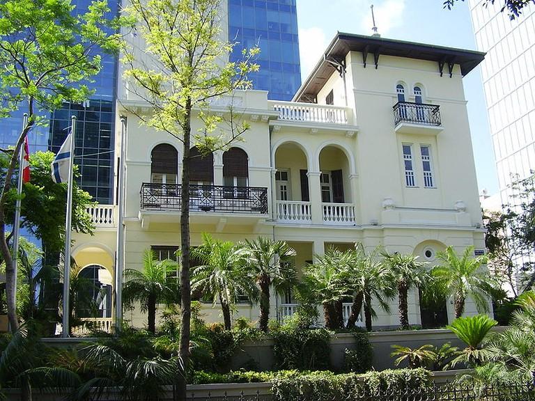 Old Russian Embassy in Tel Aviv