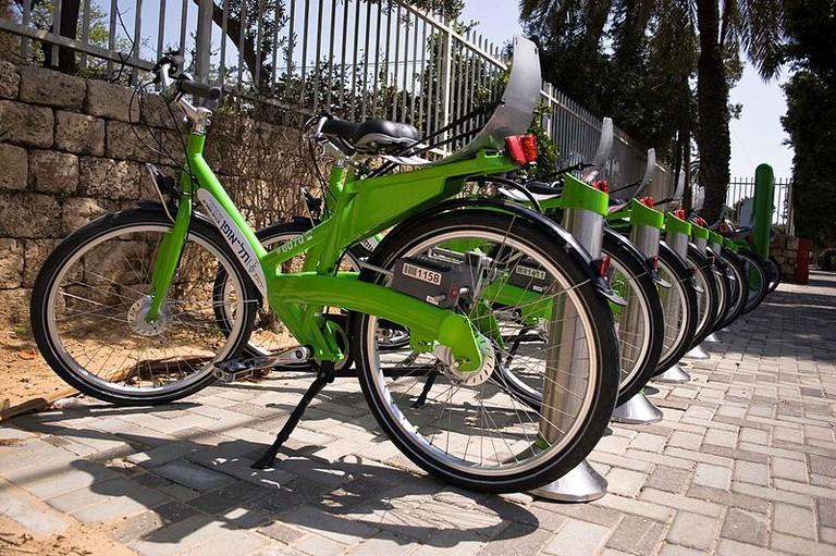 Tel Aviv's rent-a-bike city bike Tel-o-Fun