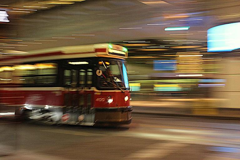 A Toronto streetcar