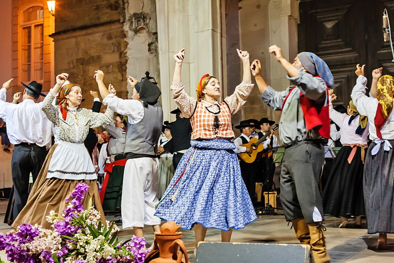 The jubilant and energetic, Ranchos Folclóricos