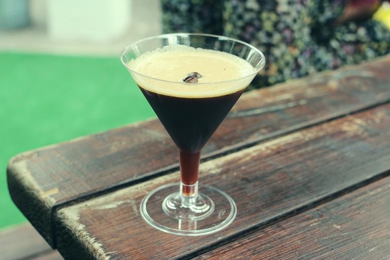 Espresso Martinis are classic Kahlúa cocktails