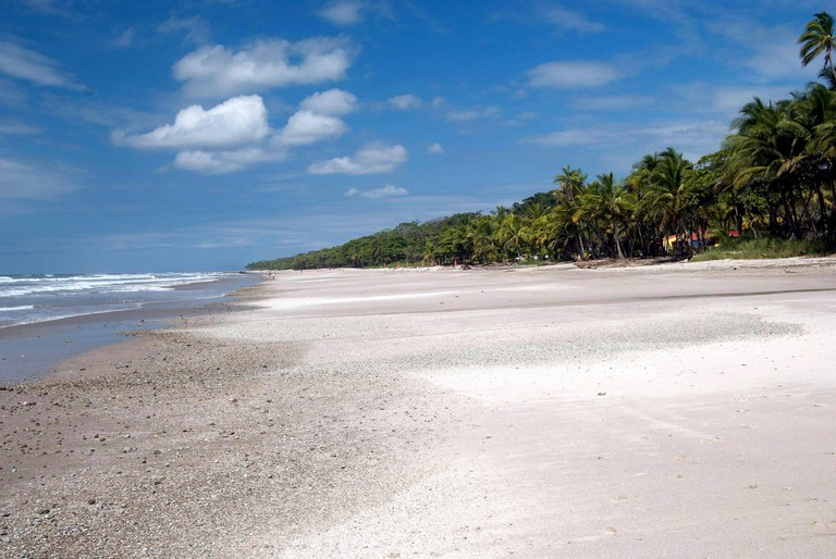 Endless beaches of Santa Teresa, Costa Rica