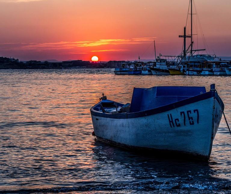 Sunset in Nessebar