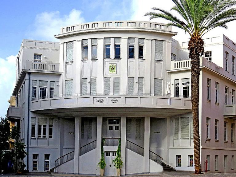 Tel Aviv's Beit Ha'ir in the  Bialik Square complex is Tel Aviv's first town hall