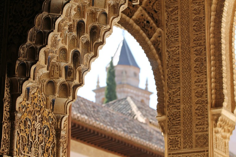 Details of the Alhambra CC0 Pixabay