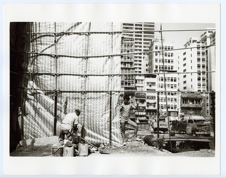 Andy Warhol, Construction Site, 1982