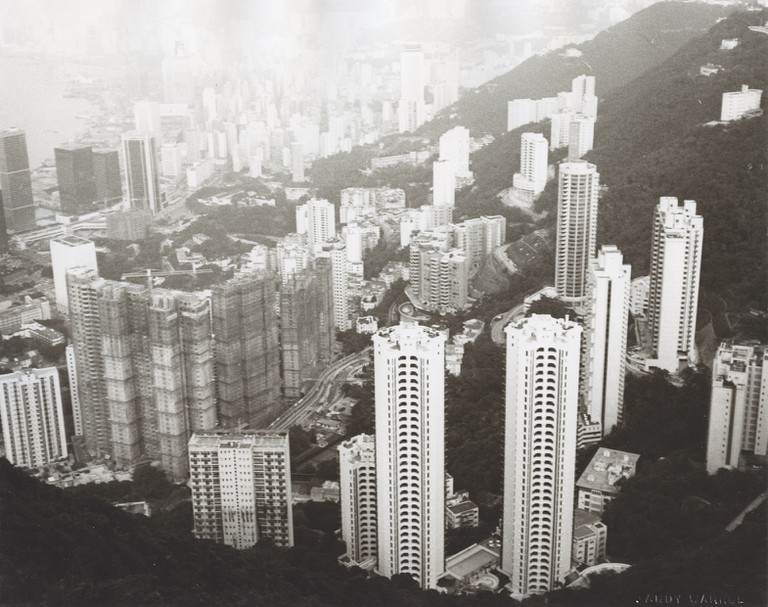 Andy Warhol, Hong Kong, 1982