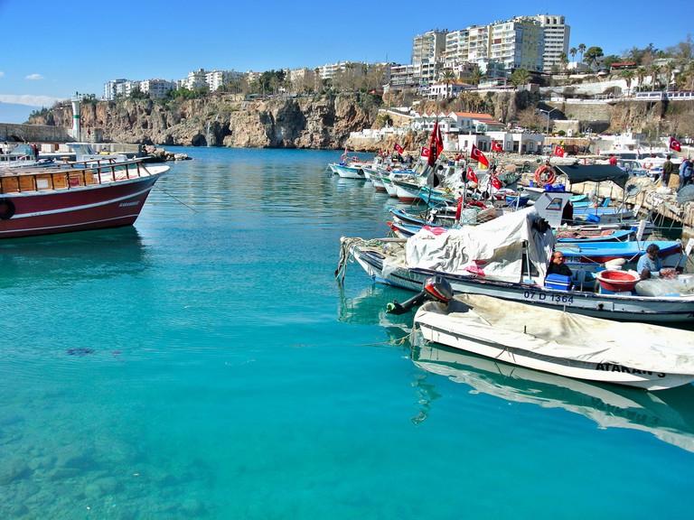 Harbour view at Antalya, Turkey
