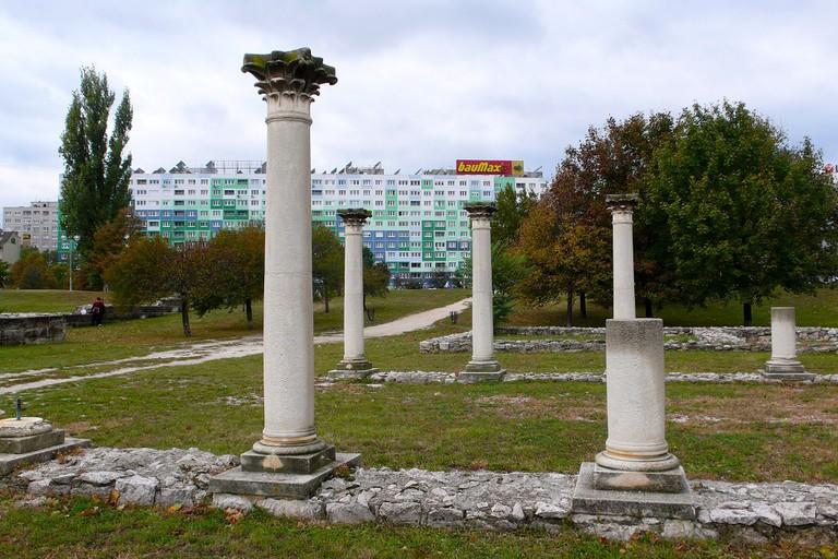 Roman ruins of Aquincum