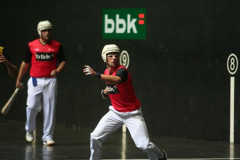 Basque pelota sport