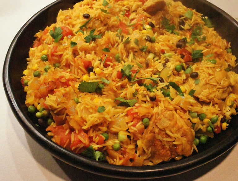 Arroz con whatever you want