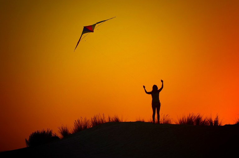 Your grandmother's kite