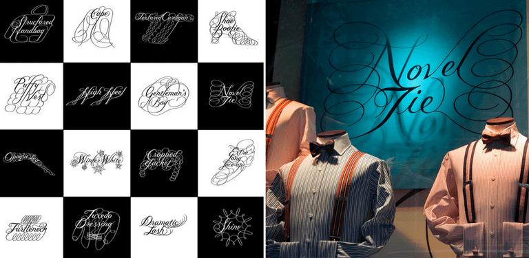Bantjes' designs for Saks Fifth Avenue | © Marian Bantjes