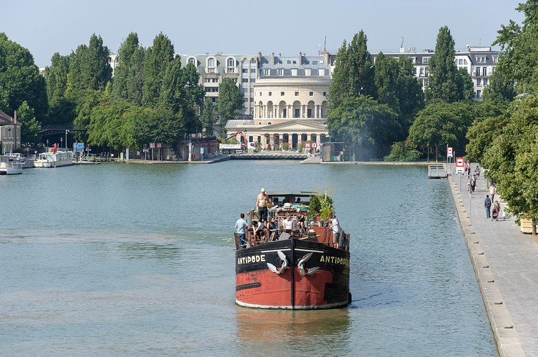 Bassin de la Villette │© Myrabella / Wikimedia Commons