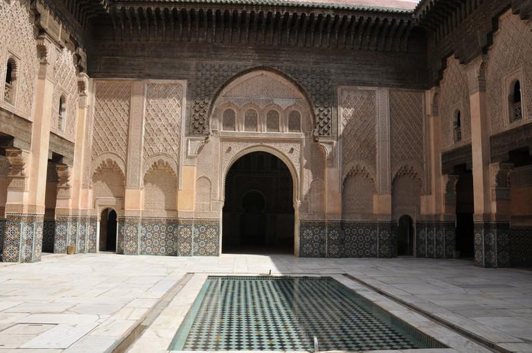 The biggest merdersa in Morocco, Merdersa Ben Youssef