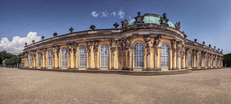 Sanssouci was the summer palace of Frederick the Great, King of Prussia, in Potsdam