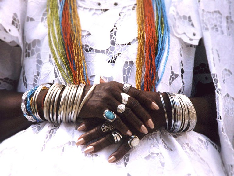 In ritual clothes of Candomble  © Candomblé/WikiCommons