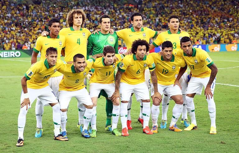 Brazilian footballers |© Danilo Borges/Portal da Copa