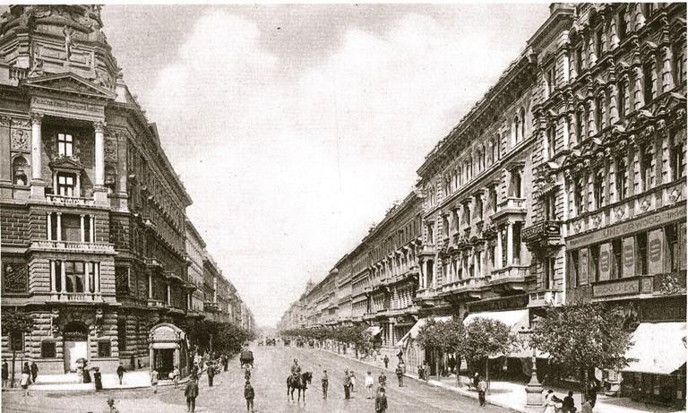 Andrassy Street Budapest