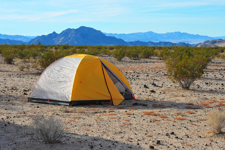 Camping in the Mojave National Preserve | © PROChris Hunkeler / Flickr