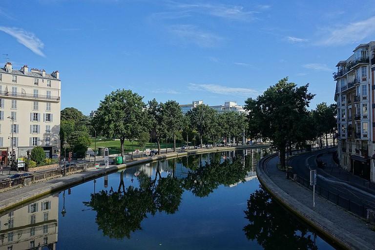 Canal Saint-Martin │© Guilhem Vellut / Wikimedia Commons
