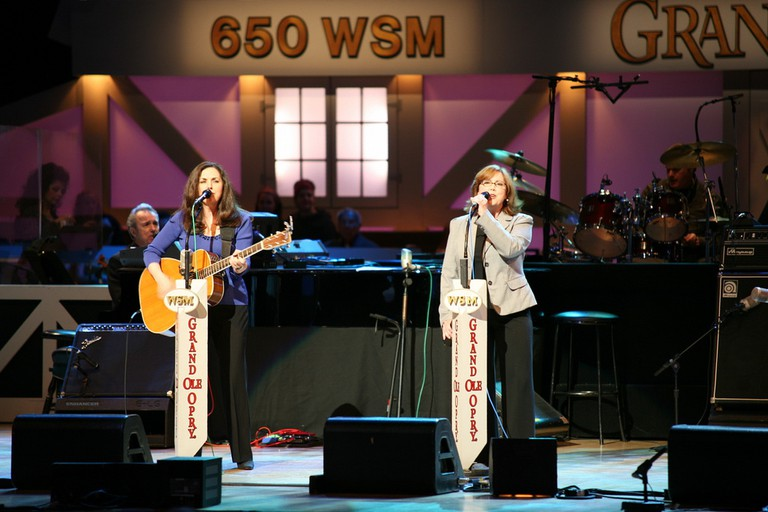 The Whites at the Grand Ole Opry