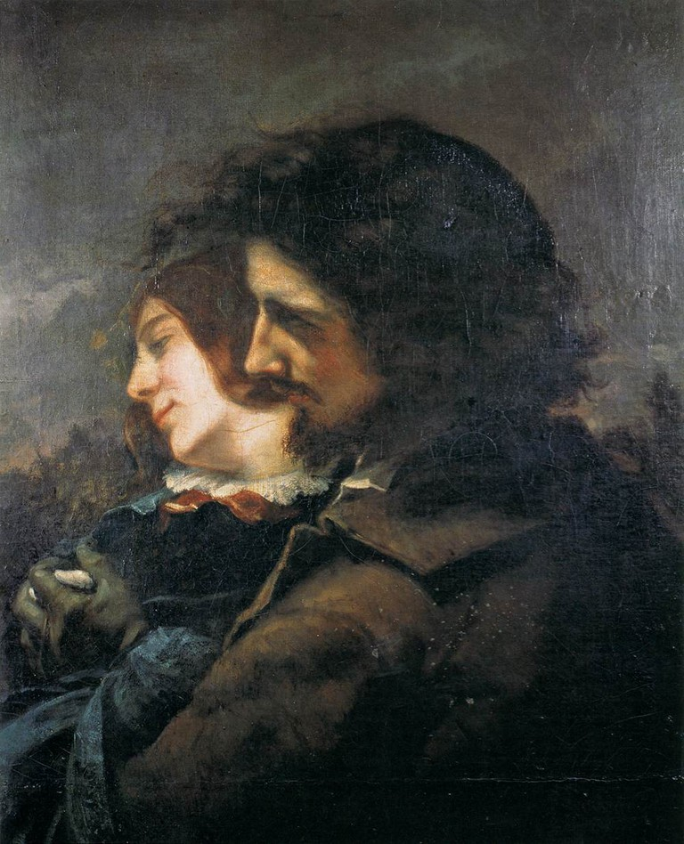 Gustav Courbet, Lovers in the Countryside, 1844 | Wikimedia Commons