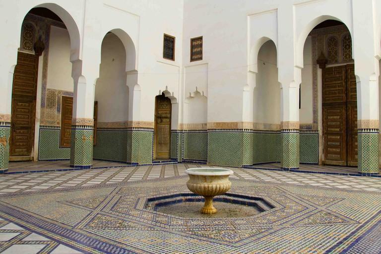 Inside Dar Si Said
