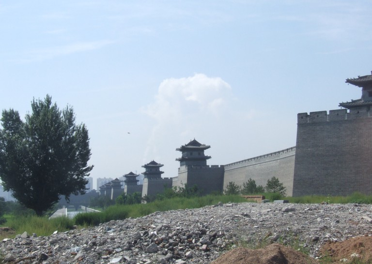 The new Datong city wall