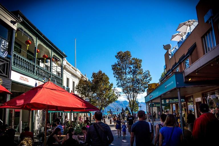 Downtown Queenstown